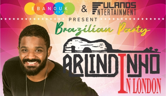 Arlindinho is the attraction confirmed at the Brazilian Party in London
