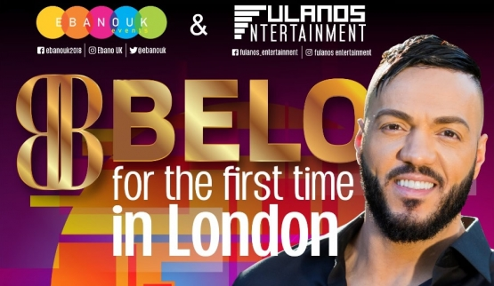 Belo is peforming for the first time in London